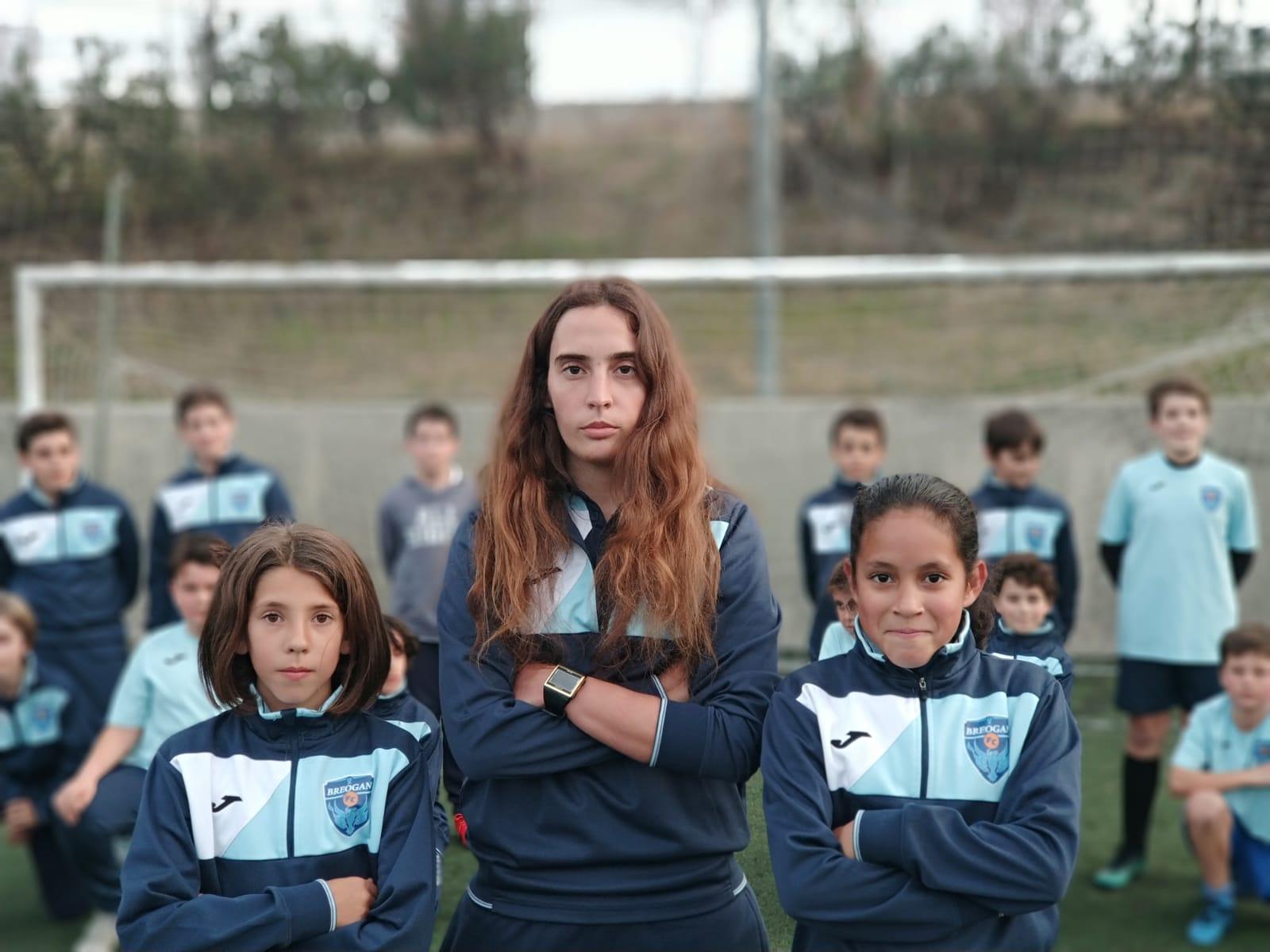 Escuela fútbol femenino Breogán