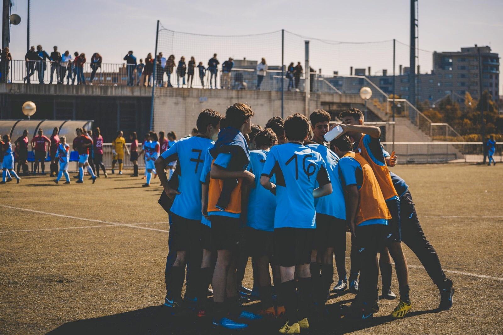 Educar en el Deporte escuela de futbol barrio de salamanca