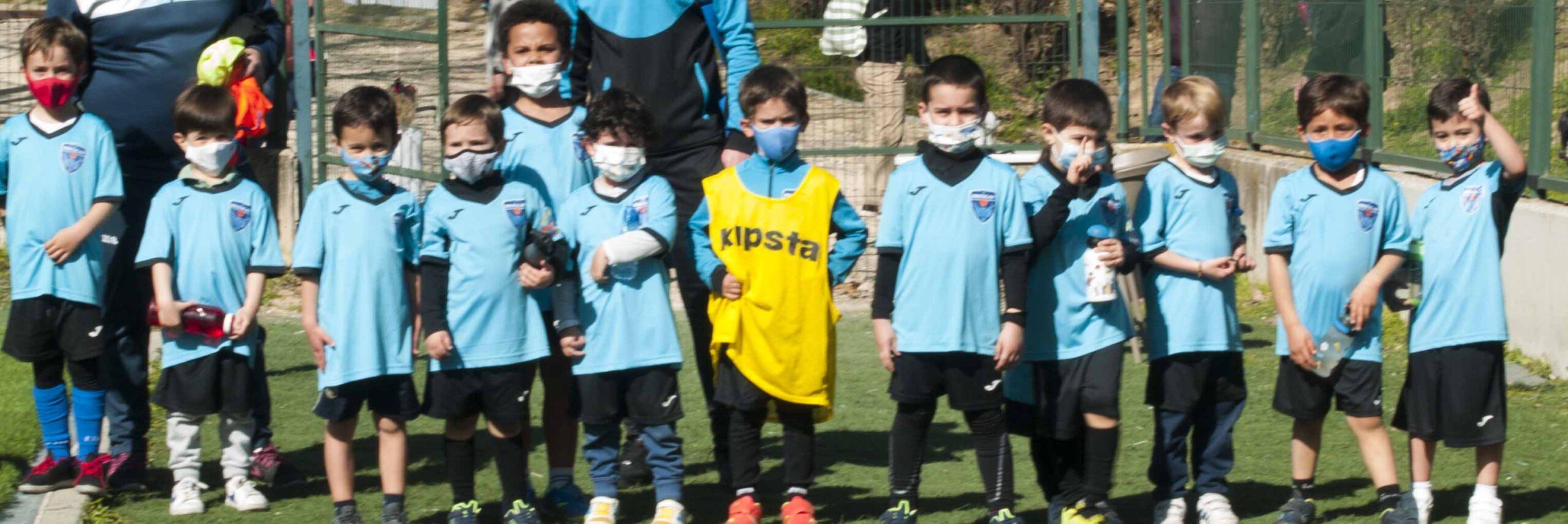 escuela de futbol para niñso de 5 y seis años